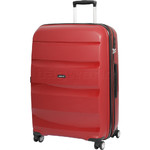 American Tourister Bon Air Deluxe Large 75cm Expandable Hardside Suitcase Magma Red 87853