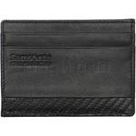 Samsonite RFID DLX Leather Card & Note Wallet Black 91523 - 1