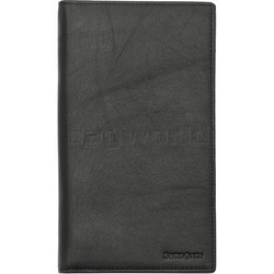 Samsonite RFID Blocking Leather Travel Wallet Black 91565