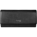 Lipault Plume Elegance Leather Wallet Black 78606