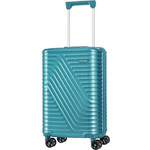 American Tourister High Rock Small/Cabin 55cm Hardside Suitcase Lagoon Blue 06207