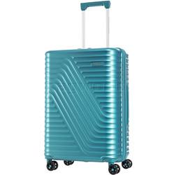American Tourister High Rock Medium 67cm Hardside Suitcase Lagoon Blue 06208