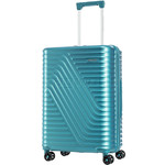 American Tourister High Rock Medium 67cm Hardside Suitcase Lagoon Blue 06208