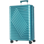 American Tourister High Rock Large 77cm Hardside Suitcase Lagoon Blue 06209