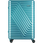American Tourister High Rock Hardside Suitcase Set of 3 Lagoon Blue 06209, 06208, 06207 with FREE Samsonite Luggage Scale 34042 - 3