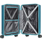 American Tourister High Rock Hardside Suitcase Set of 3 Lagoon Blue 06209, 06208, 06207 with FREE Samsonite Luggage Scale 34042 - 5