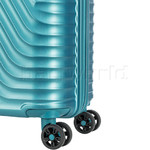 American Tourister High Rock Hardside Suitcase Set of 3 Lagoon Blue 06209, 06208, 06207 with FREE Samsonite Luggage Scale 34042 - 6