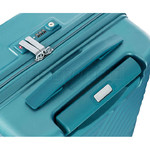 American Tourister High Rock Hardside Suitcase Set of 3 Lagoon Blue 06209, 06208, 06207 with FREE Samsonite Luggage Scale 34042 - 7