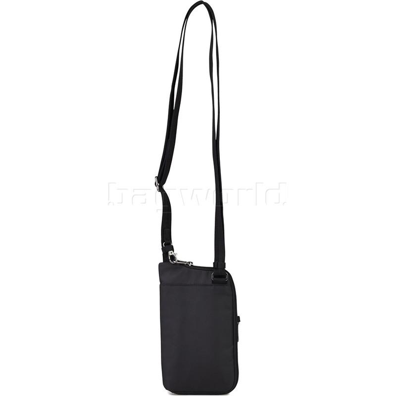 Pacsafe Daysafe Tech Crossbody Bag (Navy Polka Dot)