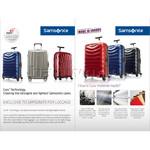 Samsonite Lite-Cube Deluxe Hardside Suitcase Set of 3 Aluminium 61242, 61243, 61245 with FREE Samsonite Luggage Scale 34042     - 7