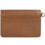 Lipault Plume Elegance Leather Card Holder Cognac 05387 - 1