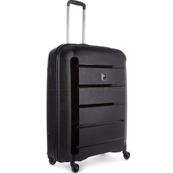 Revelation Tobago Large 75cm Hardside Suitcase Black TOB77