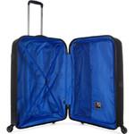 Revelation Tobago Hardside Suitcase Set of 3 Black TOB77, TOB66, TOB56 with FREE GO Travel Luggage Scale G2006 - 3