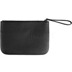 Lipault Plume Elegance Leather Clutch Black 91558 - 1