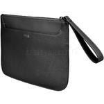 Lipault Plume Elegance Leather Clutch Black 91558 - 2