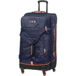 High Sierra AT Pivot Large 76cm 4 Wheel Spinner Duffel Navy 88249