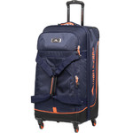 High Sierra AT Pivot Medium 68cm 4 Wheel Spinner Duffel Navy 88248