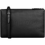 Lipault Plume Elegance Leather Multi Pouch Bag Black 05384 - 2