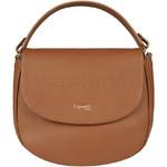 Lipault Plume Elegance Leather Saddle Bag Cognac 86218