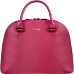 Lipault Plume Elegance Leather Handle Bag Tahiti Pink 86216