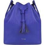 Lipault Plume Elegance Leather Bucket Bag Exotic Blue 88894