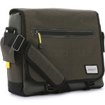 "Antler Urbanite Evolve 15.4"" Laptop & Tablet Messenger Bag Khaki 42943"