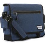 """Antler Urbanite Evolve 15.4"""" Laptop & Tablet Messenger Bag Navy 42943"""