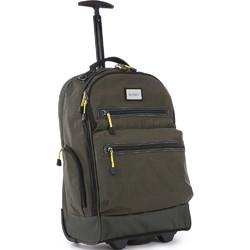 """Antler Urbanite Evolve 15.4"""" Laptop & Tablet Trolley Backpack Khaki 42951"""