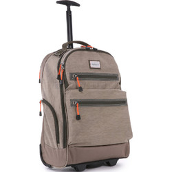 "Antler Urbanite Evolve 15.4"" Laptop & Tablet Trolley Backpack Stone 42951"