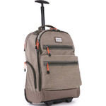 "Antler Urbanite Evolve 15.4"" Laptop & Tablet Trolley Backpack Stone 42951"