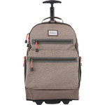 "Antler Urbanite Evolve 15.4"" Laptop & Tablet Trolley Backpack Stone 42951 - 1"