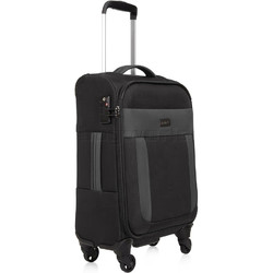 Antler Translite Small/Cabin 56cm Softside Suitcase Black 39026