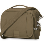 Pacsafe Metrosafe LS140 Anti-Theft Compact Shoulder Bag Earth Khaki 30410