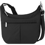 Travelon Classic Anti-Theft Slouch Hobo Bag Black 66503