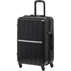 Qantas Bondi Medium 67cm Hardside Suitcase Black 74067