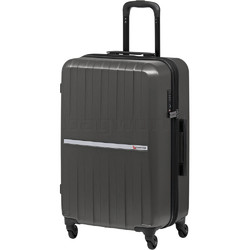 Qantas Bondi Medium 67cm Hardside Suitcase Silver 74067
