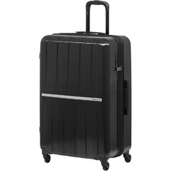Qantas Bondi Large 77cm Hardside Suitcase Black 74077