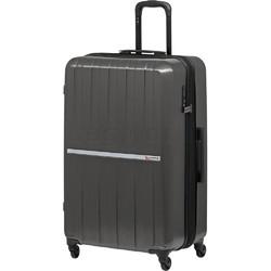 Qantas Bondi Large 77cm Hardside Suitcase Silver 74077