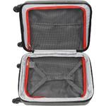 Qantas Bondi Small/Cabin 54cm Hardside Suitcase Silver 74055 - 3