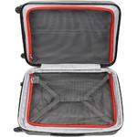 Qantas Bondi Medium 67cm Hardside Suitcase Silver 74067 - 3