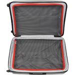 Qantas Bondi Hardside Suitcase Set of 3 Silver 74077, 74067, 74055 with FREE Go Travel Luggage Scale G2006 - 4