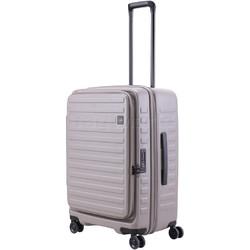 Lojel Cubo Medium 65cm Hardside Suitcase Warm Grey JCU65