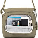 Pacsafe Metrosafe LS140 Anti-Theft Compact Shoulder Bag Deep Navy 30410 - 3