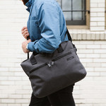"""Pacsafe Intasafe Anti-Theft 15.6"""" Laptop & Tablet Slim Briefcase Charcoal 25201 - 5"""