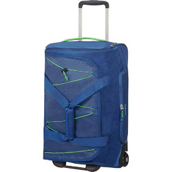 American Tourister Road Quest Small/Cabin 55cm Wheel Duffle Blue 07656