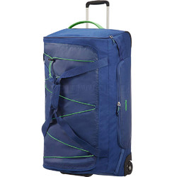 American Tourister Road Quest Large 80cm Wheel Duffle Blue 07658