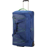 American Tourister Road Quest Wheel Duffle Set of 3 Blue 07656, 07657, 07658 with FREE Samsonite Luggage Scale 34042 - 1