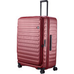 Lojel Cubo Extra Large 78cm Hardside Suitcase Burgundy Red JCU78