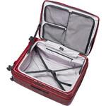 Lojel Cubo Hardside Suitcase Set of 3 Burgundy Red JCU55, JCU65, JCU78 with FREE Lojel Luggage Scale OCS27 - 5