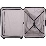 Lojel Voja Hardside Suitcase Set of 3 Black JVO55, JVO66, JVO77 with FREE Lojel Luggage Scale OCS27 - 4